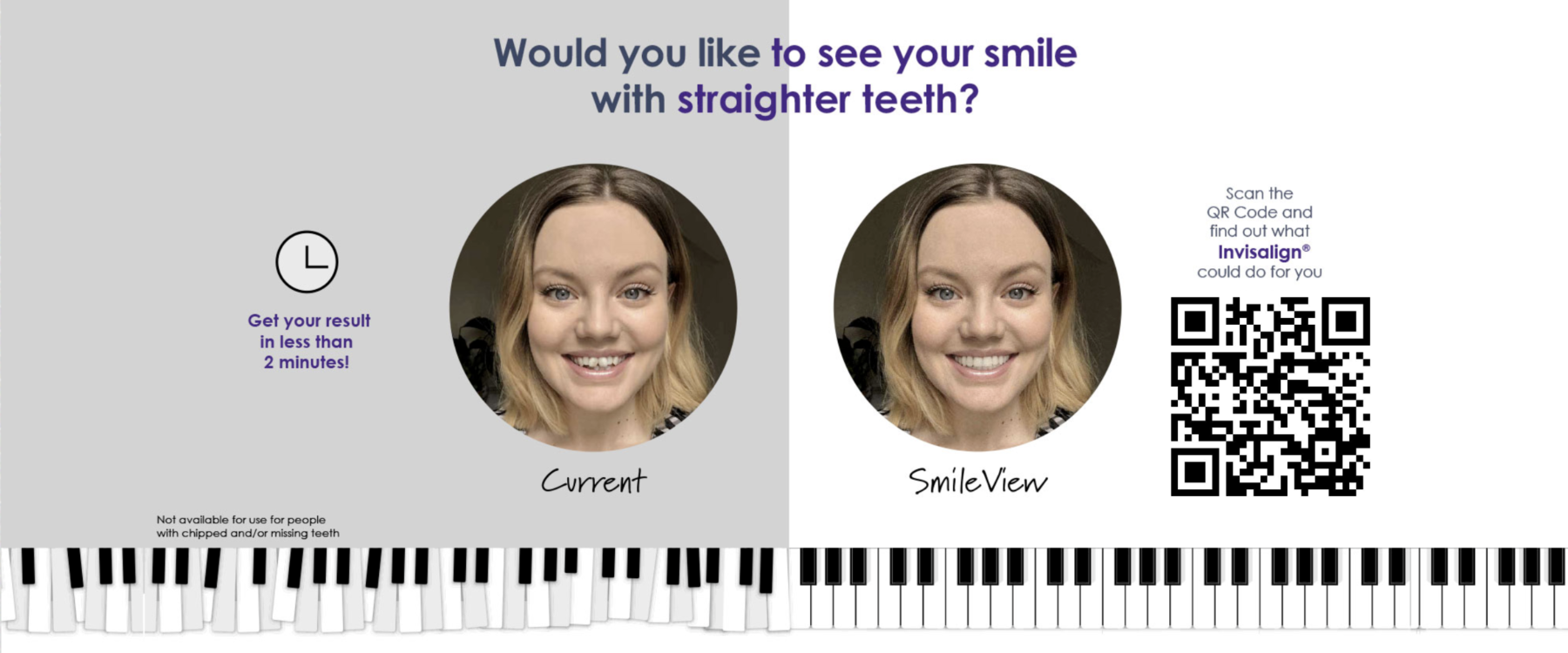 Find out if Invisalign could help straighten your teeth